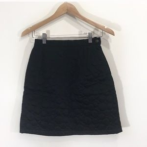 Kenzo Quilted Circle Bubble Mini Skirt Sz Small